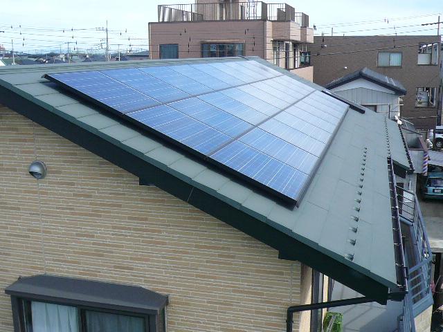 京セラ ソーラーシステム施工例